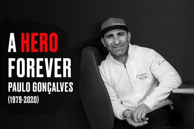 La Hero MotoSport ricorda Paulo Goncalves / Hero MotoSport