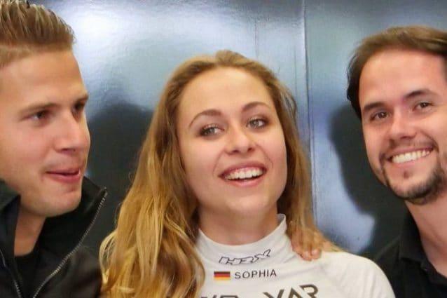 La pilota tedesca Sophia Floersch / Instagram