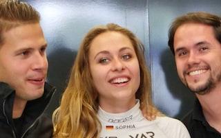 Donne in Ferrari, la dichiarazione di Mattia Binotto fa ridere la pilota