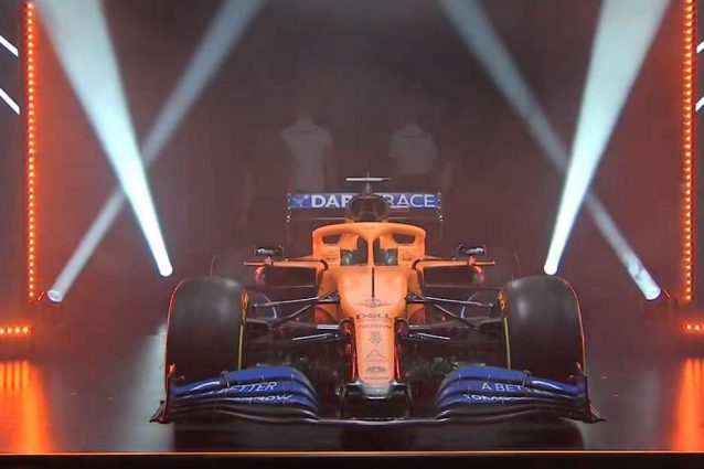 La nuova MCL35 / McLaren