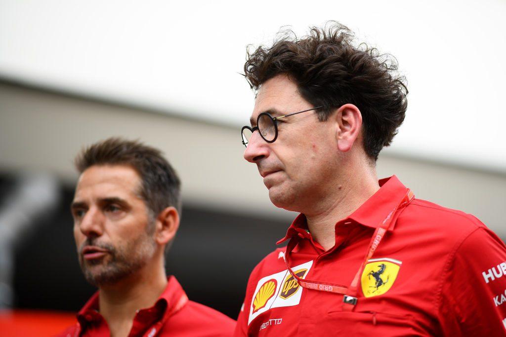 Il team principal della Ferrari, Mattia Binotto / Getty