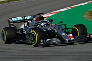 Test Barcellona, Bottas parte forte, Vettel influenzato. Sulla Ferrari c'è Leclerc