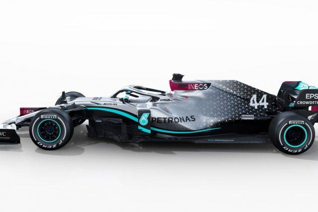 La nuova W11 di Leiws Hamilton / Mercedes AMG F1 Petronas