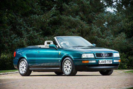 L'Audi 80 appartenuta a Lady Diana di nuovo all'asta / classiccarauctions.co.uk
