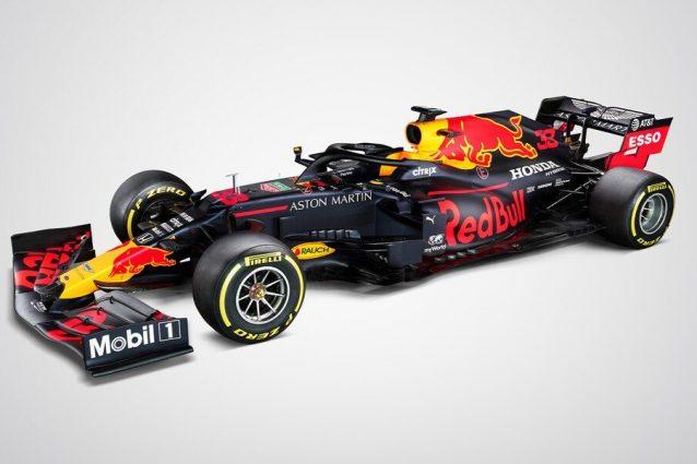 La prima foto della nuova RB16 con cui i piloti Red Bull affronteranno il campionato 2020 di F1 / Red Bull Racing