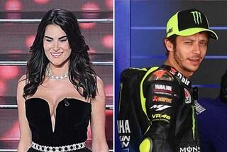 Valentino Rossi, il messaggio alla fidanzata Francesca dopo Sanremo