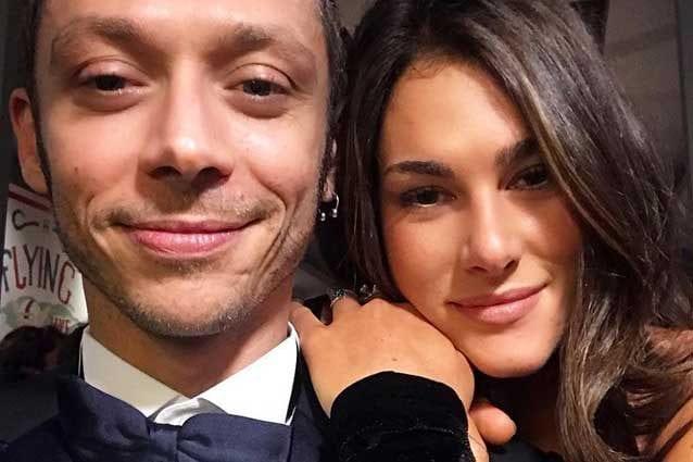 Valentino Rossi e la fidanzata Francesca Sofia Novello / Instagram