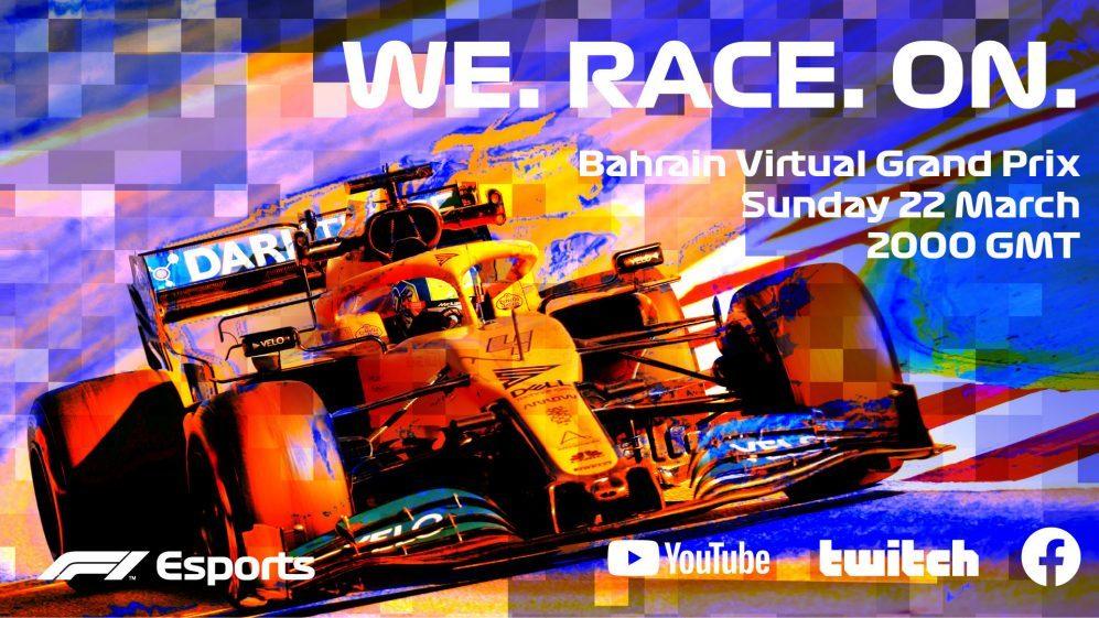 La locandina della F1 Esports Virtual Grand Prix Series