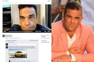 """Robbie Williams: """"Voglio un lavoro vero"""" e la Mercedes gli offre un posto"""