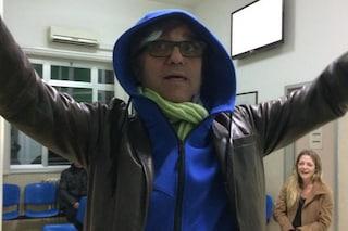 "Gaetano Curreri cade sul palco a Pescara: ""Sto benissimo"" scrive dall'ospedale"