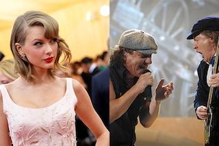 Qual è l'album che suona più 'rumoroso': Taylor Swift batte gli AC/DC