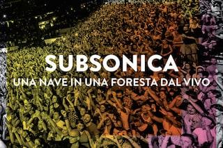 I Subsonica tornano con il cofanetto 'Una nave in una foresta dal vivo'