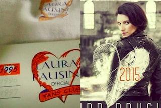 """Laura Pausini festeggia il suo fan club: """"20 anni di amore immenso, gigante"""""""