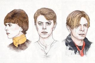 David Bowie dal '64 ad oggi, storia di una gif che ha fatto il giro del web