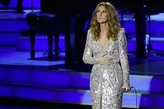 Celine Dion torna a cantare e si emoziona ricordando il marito René Angelil