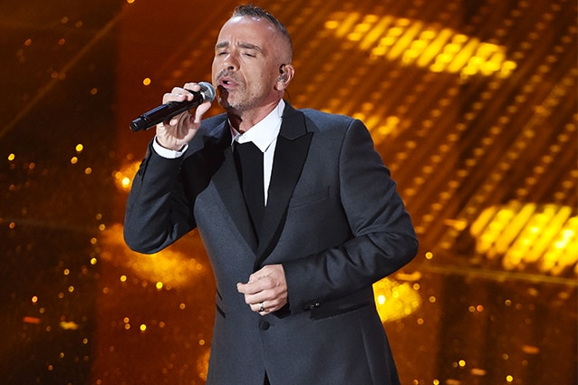 Eros Ramazzotti al Festival di Sanremo 2016