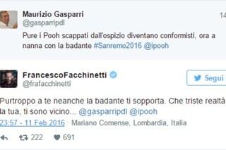 """Gasparri sui Pooh: """"Scappati dall'ospizio"""", la replica di Facchinetti: """"Sei triste"""""""