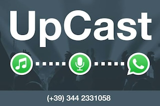 Con UpCast la musica va su Whatsapp rendendo gli ascoltatori protagonisti