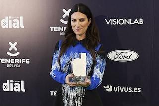 Laura Pausini conquista un altro premio in Spagna: 'Una soddisfazione gigante'