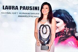 """Laura Pausini regina delle classifiche e di solidarietà: premiata ai """"Global Gift Gala"""""""