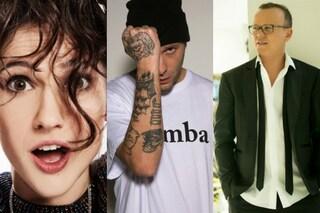 Sanremo: Comello, Clementino e D'Alessio vincono la classifica social, bene i conduttori