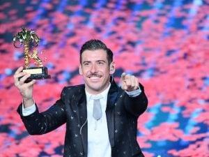 Francesco Gabbani vincitore del Festival di Sanremo 2017 (LaPresse)