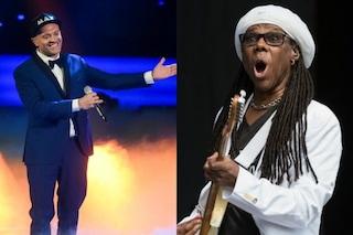 """Max Pezzali, è Nile Rodgers l'ospite internazionale del nuovo singolo: """"Sono fortunato"""""""