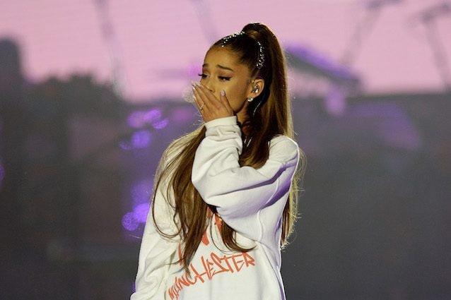 Ariana Grande durante One Love Manchester (Getty Images)
