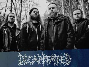 La band polacca Decapitated