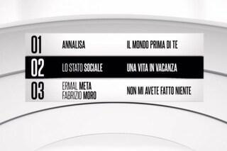 La classifica finale del Festival di Sanremo 2018