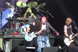 Firenze Rock, Guns'n Roses a sorpresa al concerto dei Foo Fighters