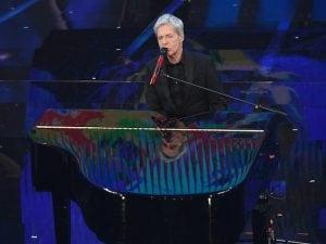 Claudio Baglioni al Festival di Sanremo 2018 (LaPresse)
