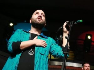 Giuliano Sangiorgi dei Negramaro (LaPresse)