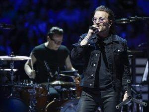 Bono Vox (credit: KAMIL KRZACZYNSKI/AFP/Getty Images)