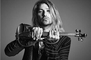 """David Garrett, il violino più rock del mondo: """"Cominciai con Abbado, il mio cuore è rock 'n' roll"""""""