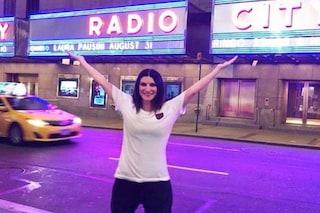 """Dopo New York Laura Pausini contro chi non credeva in lei: """"Ricordo le vostre facce"""""""