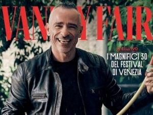 Eros Ramazzotti sulla copertina di Vanity Fair