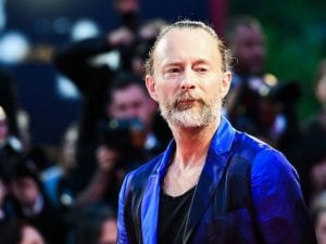 Thom Yorke (Photo by Vincenzo PINTO / AFP