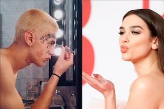 Alla popstar Dua Lipa piace Young Signorino (che cancella il video di Coma Lover)