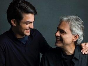Andrea e Matteo Bocelli (ph Mark Seliger, Decca Records)