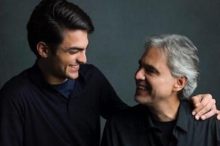 """Andrea Bocelli presenta """"Sì"""" col figlio Matteo: """"Sanremo 2019? Se mi invitano, perché no"""""""