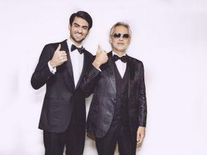 Andrea Bocelli e il figlio Matteo (ph Luca Rossetti)