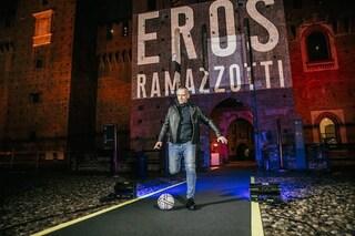 """Eros Ramazzotti: """"La mia 'Buonamore' dedicata ad Aurora che cambia e si migliora giorno dopo giorno"""""""