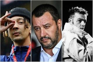 """Ghali sostiene Salmo: """"Chi vota Salvini, accompagna i figli ai nostri concerti. Un corto circuito"""""""