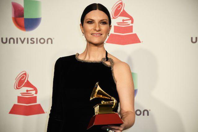 Laura Pasini ai Latin Grammy (Getty Images)
