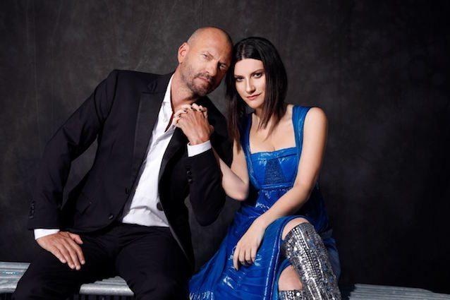 Laura Pausini e Biagio Antonacci (ph Cosimo Buccolieri)