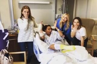 Incidente per Mel B, operata d'urgenza: le altre Spice Girls vanno a trovarla in ospedale