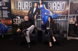 """Laura Pausini e Biagio Antonacci in tour assieme: """"Fiero di farlo con la nostra unica star mondiale"""""""