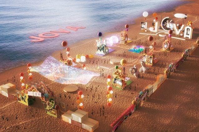 Come sarà organizzata la spiaggia per il Jova Beach Party