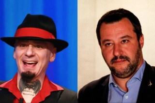 """Matteo Salvini a J-Ax: """"Non voglio male a nessuno, loro provano rancore"""", il rapper minaccia querele"""